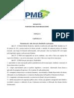 PMB Estatuto