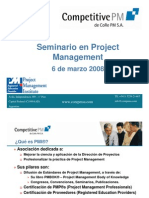 Seminario en Project Management Parte I