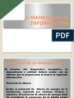 3.6 Manejo de La Informacion