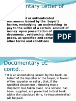 5.Documentary Letter of Credit