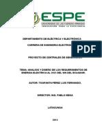 Proyecto de Centrales Electricas.