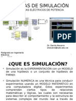 00_Presentación Tecnicas de Simulacion Sistemas Electricos de Potencia