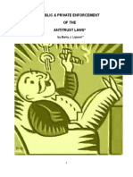 PUBLIC & PRIVATE ENFORCEMENT OF THE ANTITRUST LAWS by Barry J. Lipson