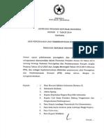 Inpres Nomor 2 Tahun 2014-Pencegahan Dan Pemberantasan Korupsi