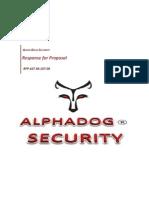 Alpha Dog Security - IsS Capstone (Final)
