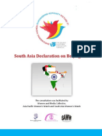 South Asia Declaration on Beijing+20