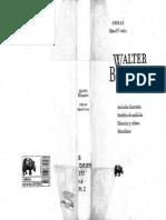 Walter Benjamin Libro IV Vol. 2