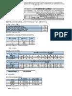 1. Dotación y Diseño Hidráulico de Reservorio