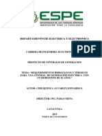 Proyecto Centrales Electricas