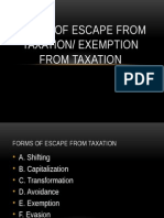 formsofescapefromtaxation-130319133613-phpapp01.pptx