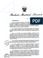 Reglamento de La Reforma MafgisteriaL