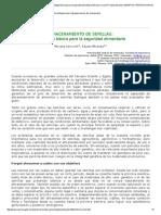 ALMACENAMIENTO de SEMILLAS Estrategia Básica Para La Seguridad Alimentaria Miriana Cerovich Fausto Miranda CENIAP HOY REVISTA DIGITAL