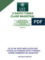 Clase Lenguaje (universidad santo tomas)