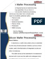 Addistion Engineering - Silicon Wafer Processing