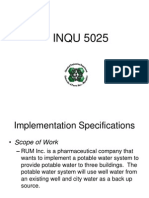 Rum Inc - Potable Water 2014