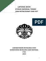 Metalografi Dan HST