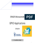 STM Logic 1.8 GPIO Applications