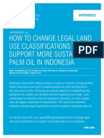 Change Legal Land Use Classifications for Sustainable Palm Oil