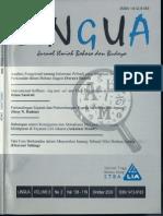LINGUA STBA LIA (Vol. 8, No. 2, 2009)