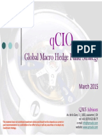 qCIO Global Macro Hedge Fund Strategy - March 2015