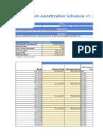 SBI MaxGain Amortization Schedule