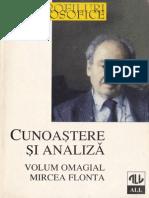 Adrian-Paul Iliescu - Cunoastere Si Analiza