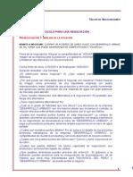 Protocolo de Negociacion Trabajo Individual