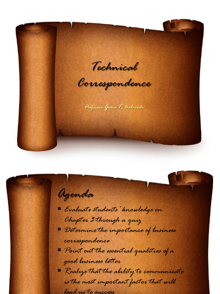 qualities of a good business letter