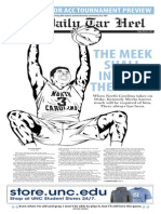 The Daily Tar Heel for March 6, 2015