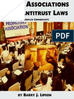 TRADE ASSOCIATIONS & THE ANTITRUST LAWS by Barry J. Lipson