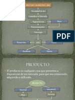 Proceso Marketing Mix