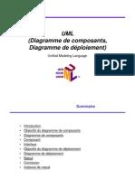 UML 10 DiagrammeComposantsDeploiement