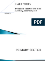 Primary Sector
