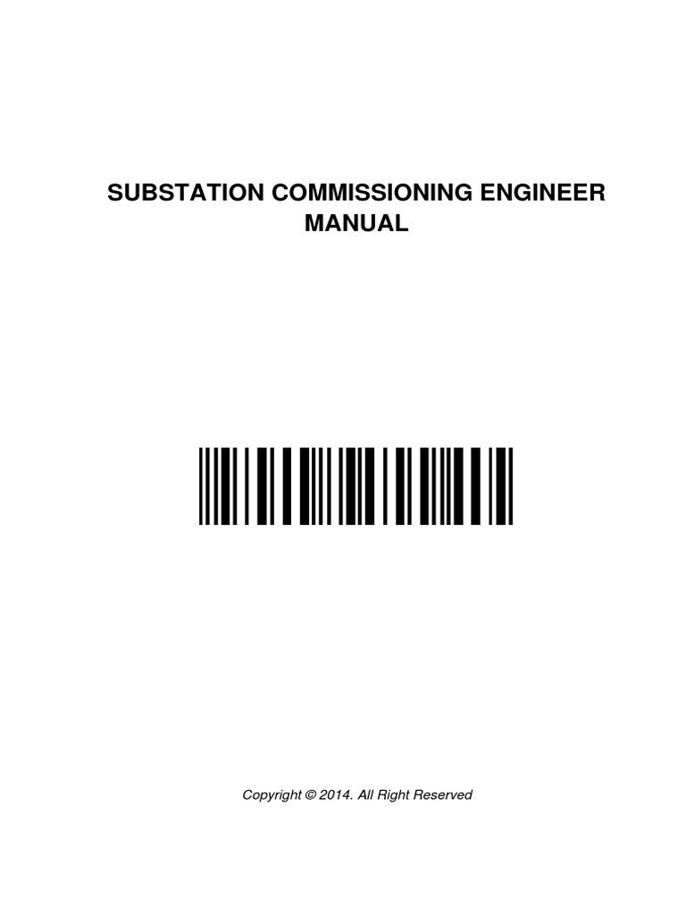 substation commissioning engineer manual electrical substation rh es scribd com