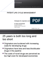 Patent Life Cycle Management