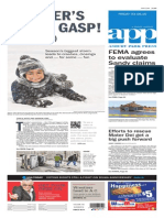 Asbury Park Press front page Friday, March 6 2015