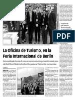 150306 La Verdad CG- La Oficina de Turismo, En La Feria Internacional de Berlín p.9