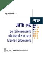 UNI TR 11463