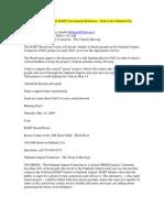 BART - Hamill Jobs Numbers - May 2009