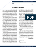 Autentisk ledelse ifølge Steve Jobs