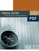 Group of 30 Reforms - Volcker