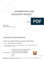 Postmodernism and Consumer Society