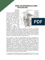 Plan Nacional de Desarrollo 2006