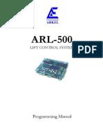 Arl-500 Programming Manual v18