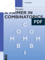 A Primer in Combinatorics - Alexander Kheyfits.pdf