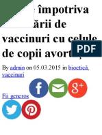 Vaccin Pe Baza de Copil Avortat - pepsi