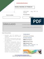2° Simulado Grátis TRT-MG 2015 do Blog TRT 24 horas