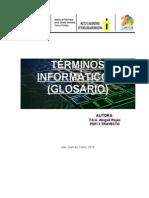 Glosario de Términos Informáticos