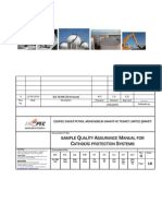 EDO MNL QAC GNR INT XXX 013 007 007 Rev 0 Sample Quality Assurance Manual for Cathodic Protection Systems