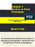 Chapter 1 Introduction to Food Packaging
